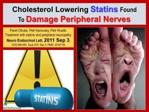 HEALTH RECOVERY PLAN - STATINS DAMAGE NERVES