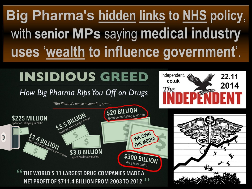 truth about big pharma and nhs - death by medicine