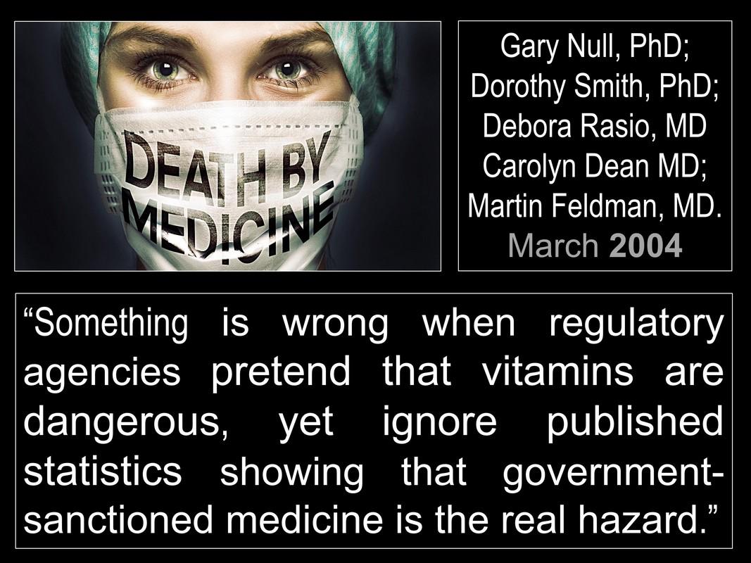 truth about big pharma - death by medicine