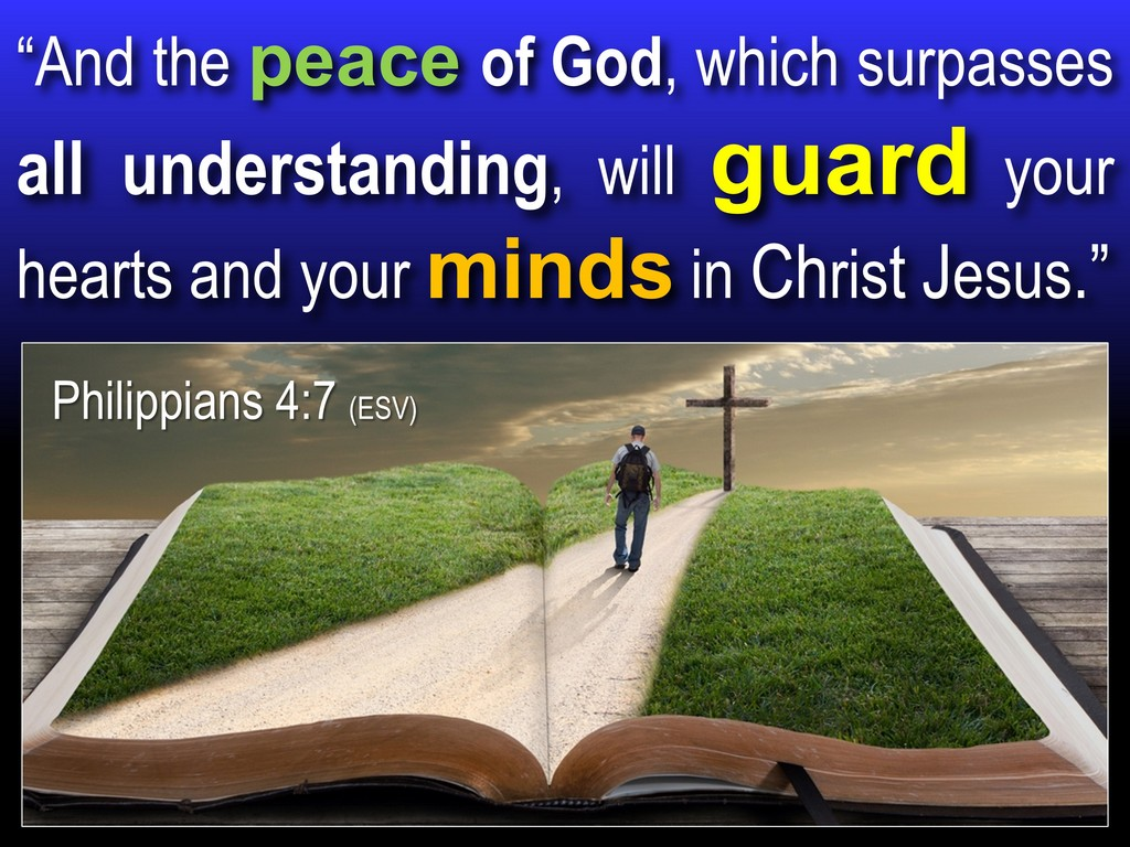 Alzheimer's bible mind peace
