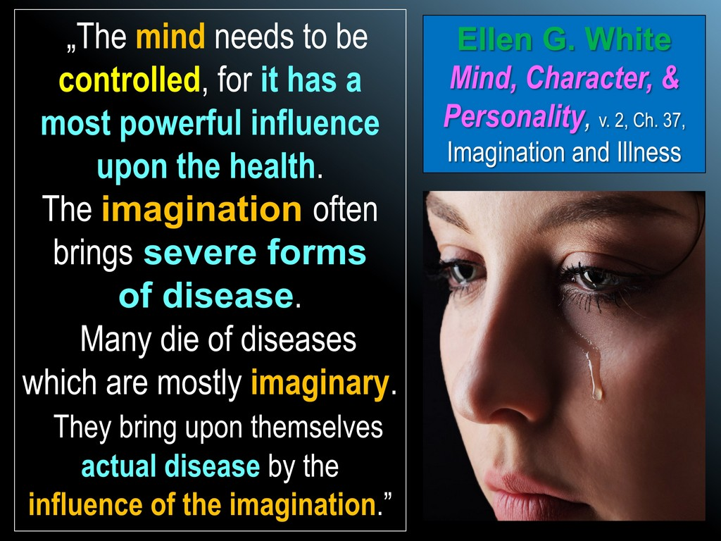 Alzheimer's Ellen White imagination
