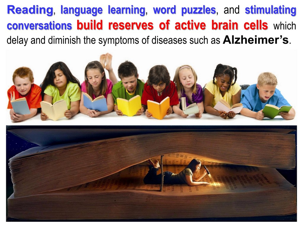 Alzheimer's reading learning