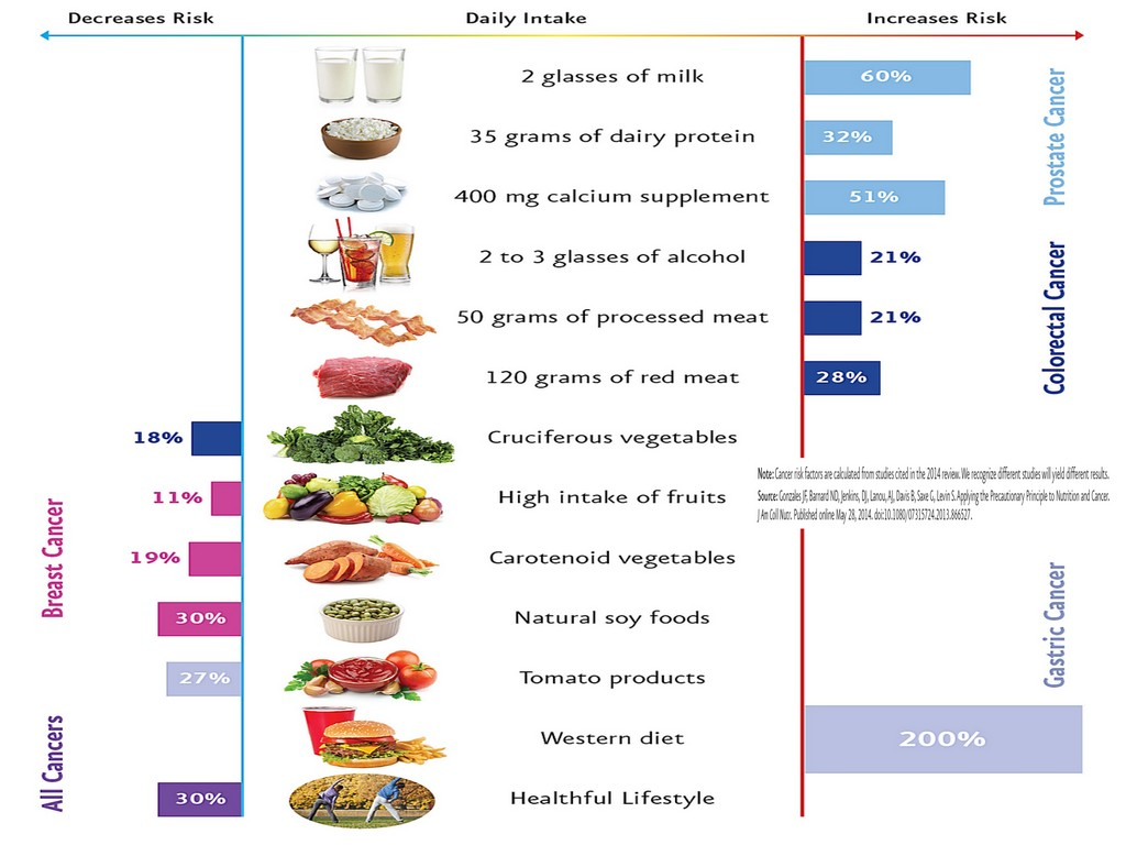 FOOD AND BREAST CANCER RISK