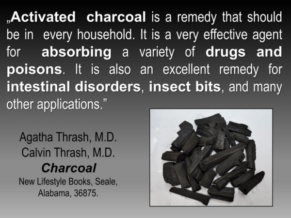 charcoal for Toothache, Tooth Decay, Tooth Inflammation, & Pain after Extraction