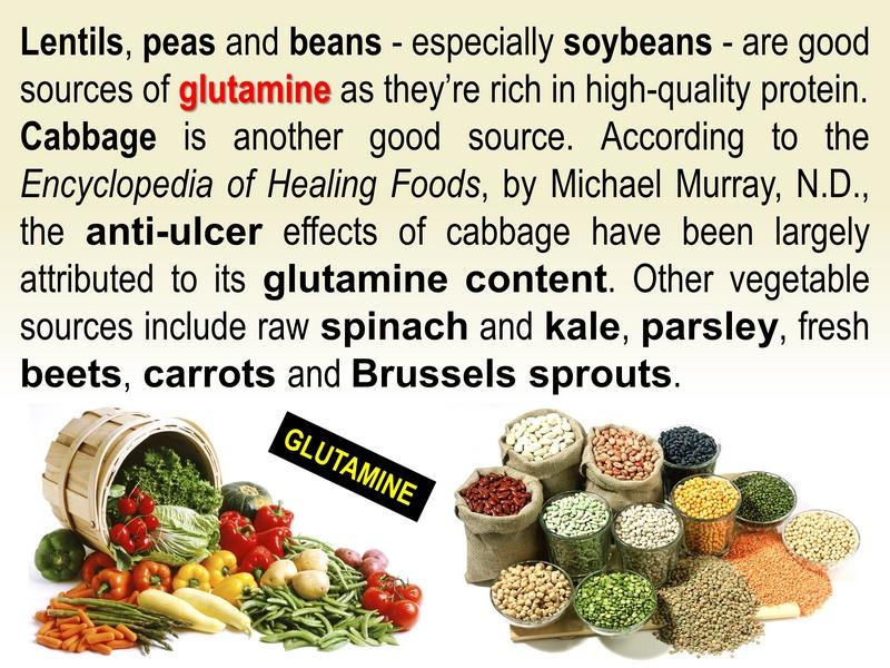 glutamine food sources