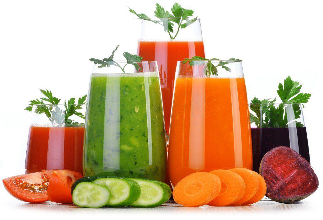 Benign Prostatic Hyperplasia (BPH) vegetable juices