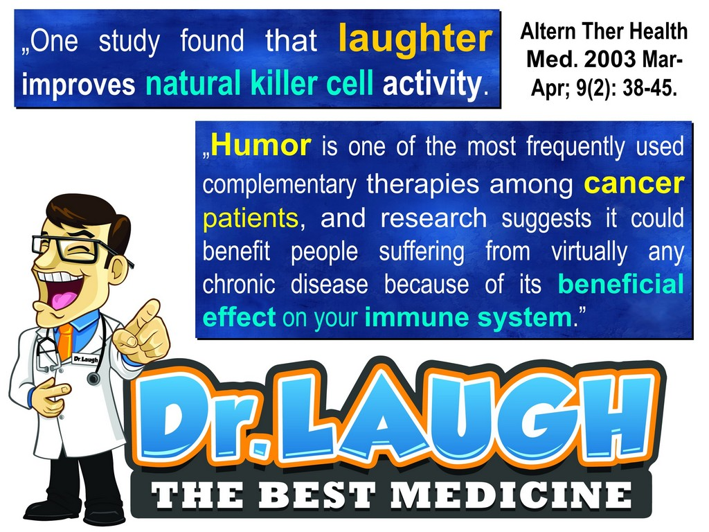 Amazing health benefits of laughter