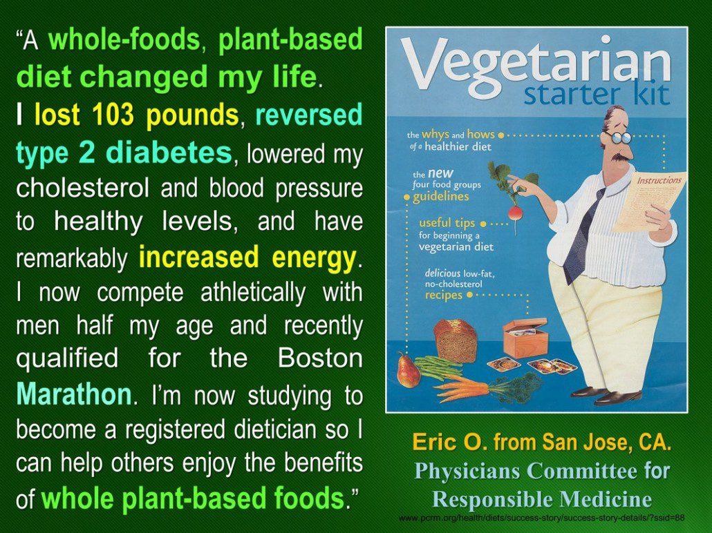 Diabetes recovery on vegan diet