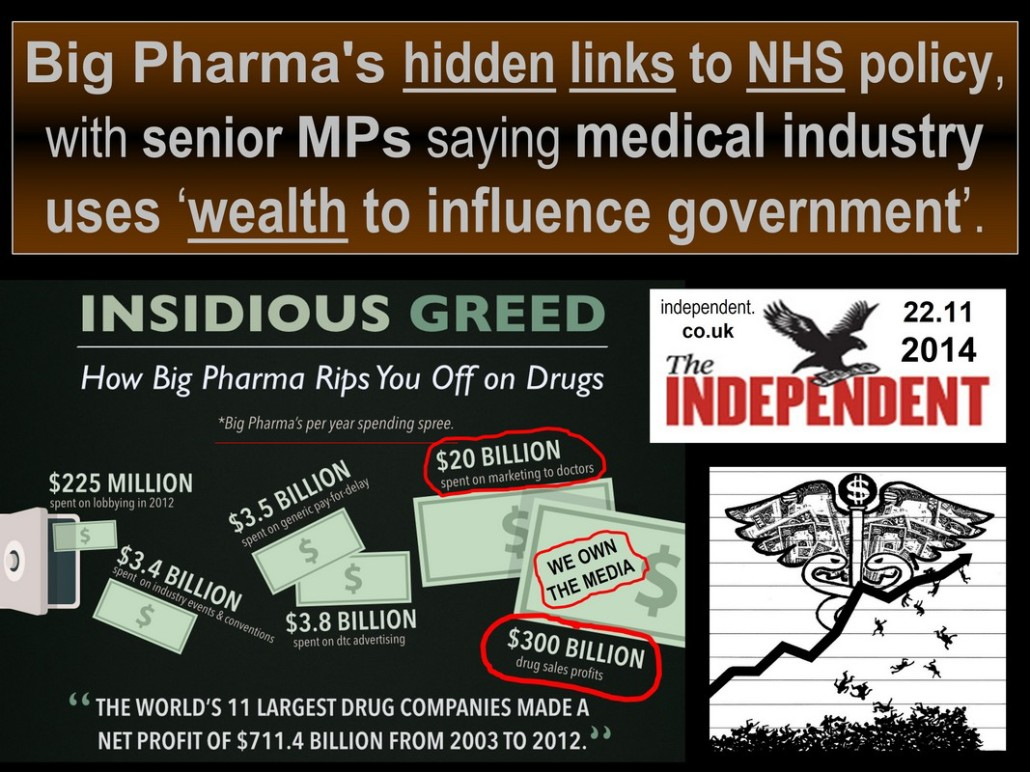 Big pharma & NHS TRUTH
