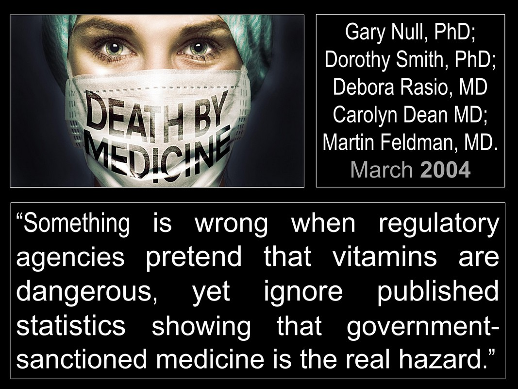 truth about big pharma - death by medicine