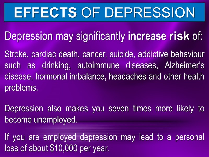 DEPRESSION & ANXIETY EFFECTIVE NATURAL TREATMENT