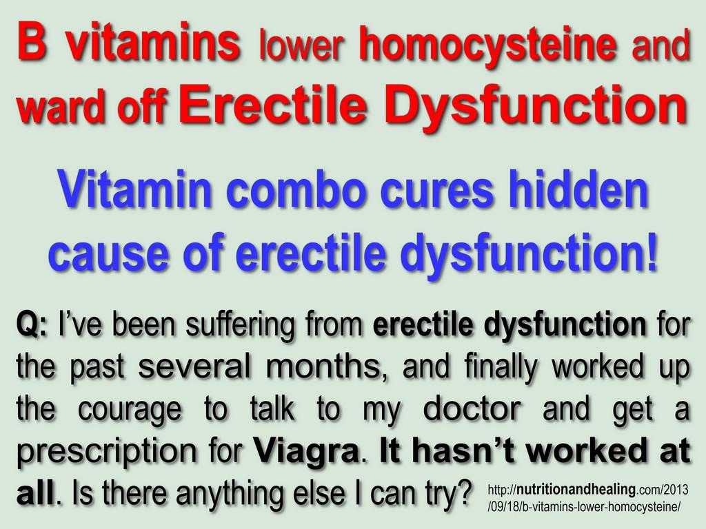 Ed Natural Remedies Foods