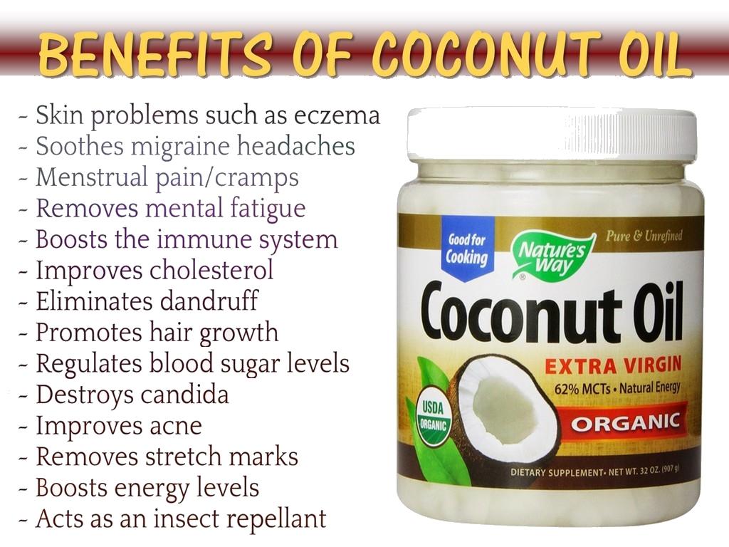 Coconut Oil Amazing Health Benefits