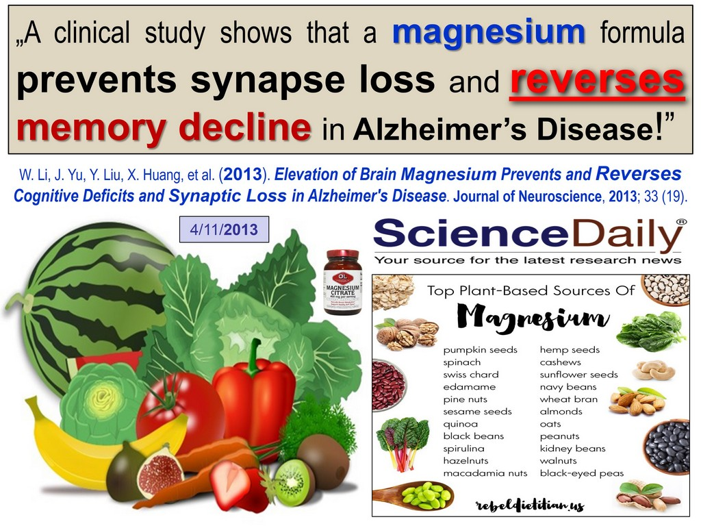 Alzheimer's magnesium