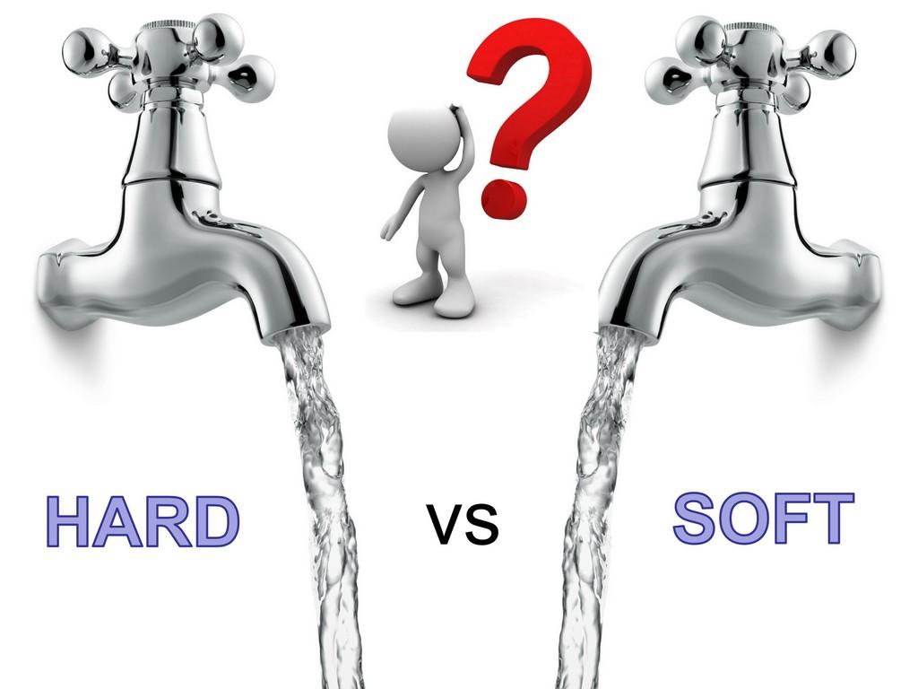 har water vs soft water - distilled water - calcium carbonate