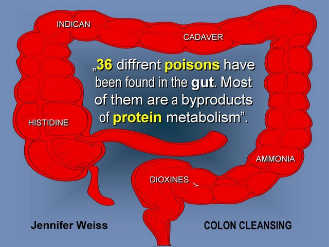 poisons in colon