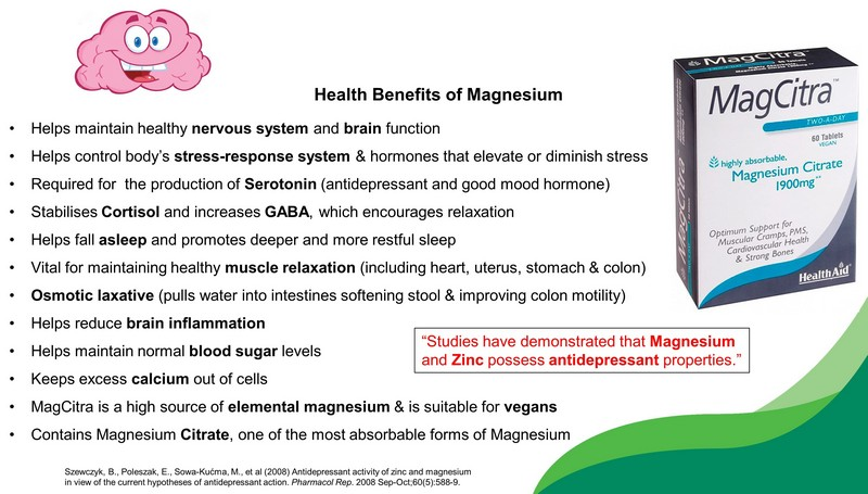 magnesium for stress