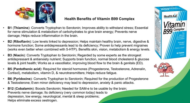 b vitamins for stress