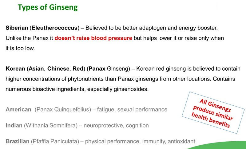 ginseng for stress