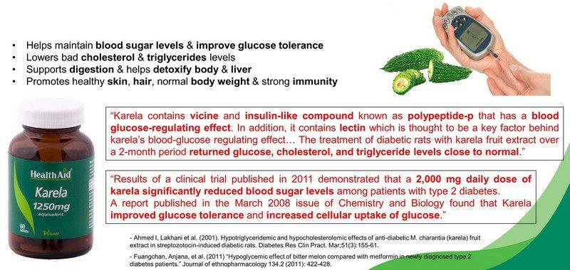 karela cures diabetes